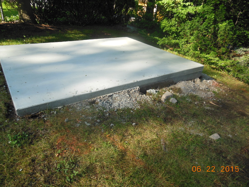 Base for Lifetime (plastic) storage shed-concrete-003.jpg