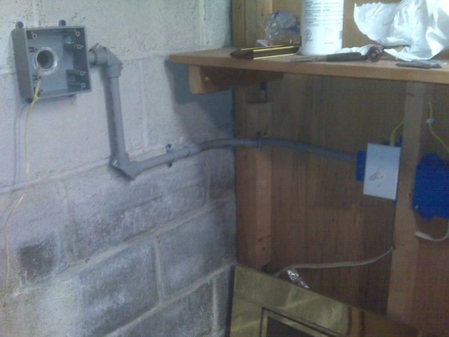 Proper Way To Send UF Cable From Inside To Outside - Electrical ...