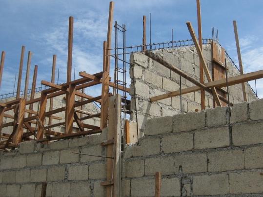 Concrete Block Homes Construction June 2010 038 Jpg
