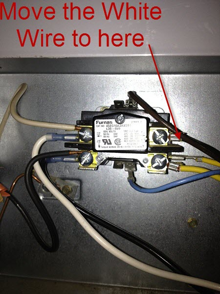 Help With 3 Wire To 4 Wire Condenser Fan Motor - HVAC - DIY ...