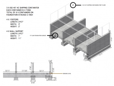 planning out a shipping container house - building & construction