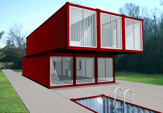 Containers Homes container homes, what foundations does it need?? - building