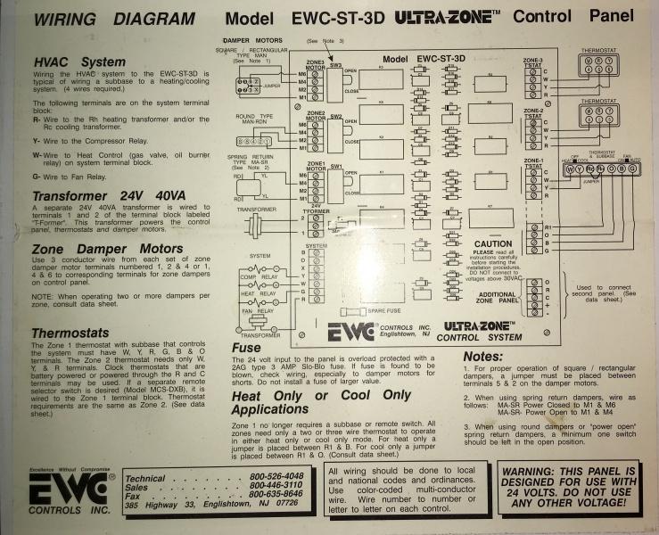 Rth8500 Wiring O And B Terminals - Hvac