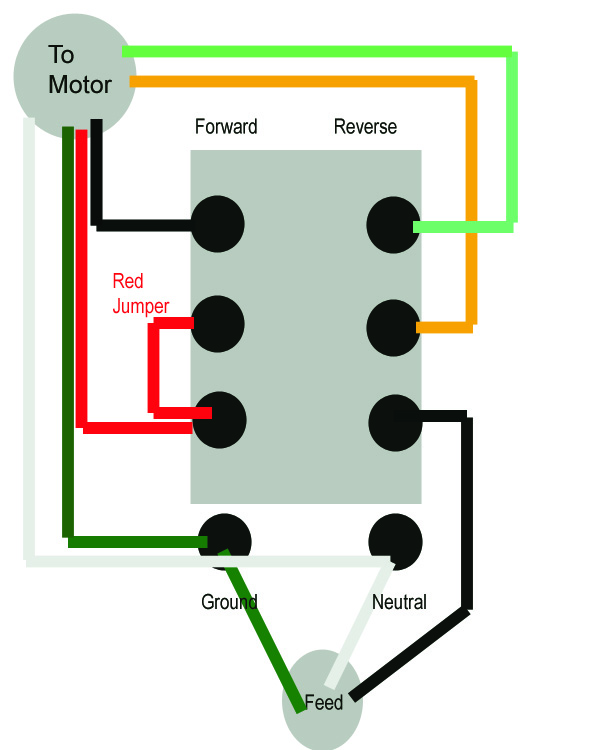Ac Motor Switch Wiring - Wiring Solutions