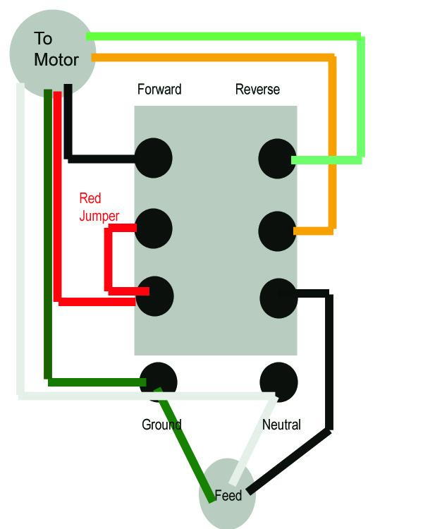 Ac Gearmotor Wiring Help - Electrical
