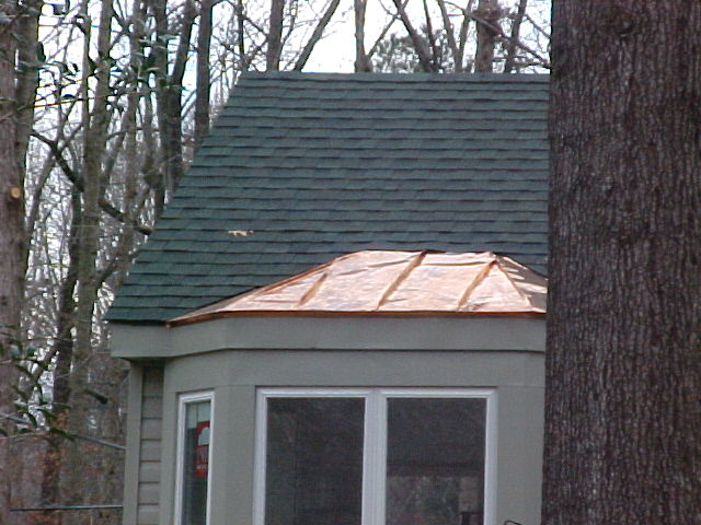 Bay Window Roof Roofing Siding Diy Home Improvement