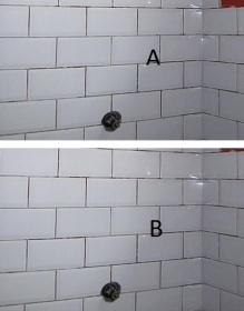 Inside Corner And Subway Brick Pattern Tile Tiling Ceramics Marble Diy Chatroom Home Improvement Forum