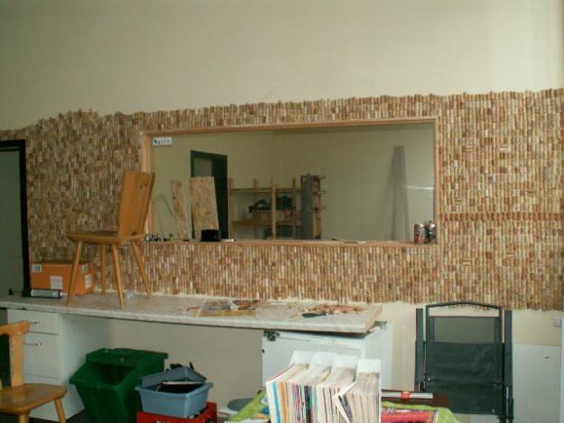German House Rebuild-cork-wall.jpg