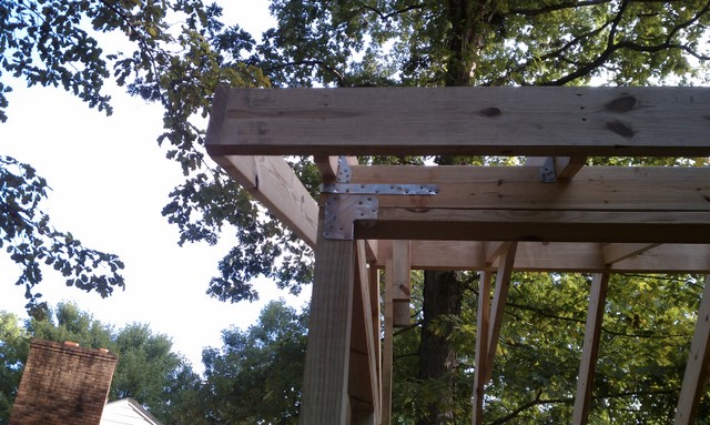 Screened porch project-corner-framing.jpg