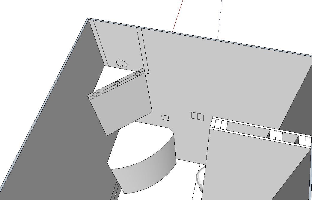 Corner Medicine Cabinet Lights Wiring Rough In Diy Home Improvement Forum