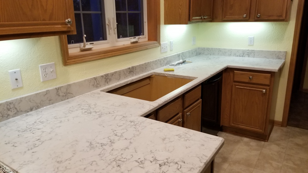 Kitchen Countertop Replacement With Granite Counters Jpg