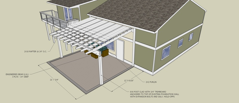 Patio Cover - Wood Species And Rafter Question