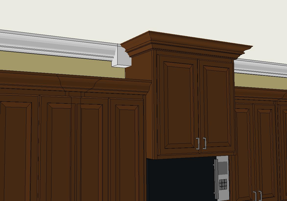 Kitchen Crown Molding Crown Molding In The Kitchen Remodeling Diy Chatroom Home