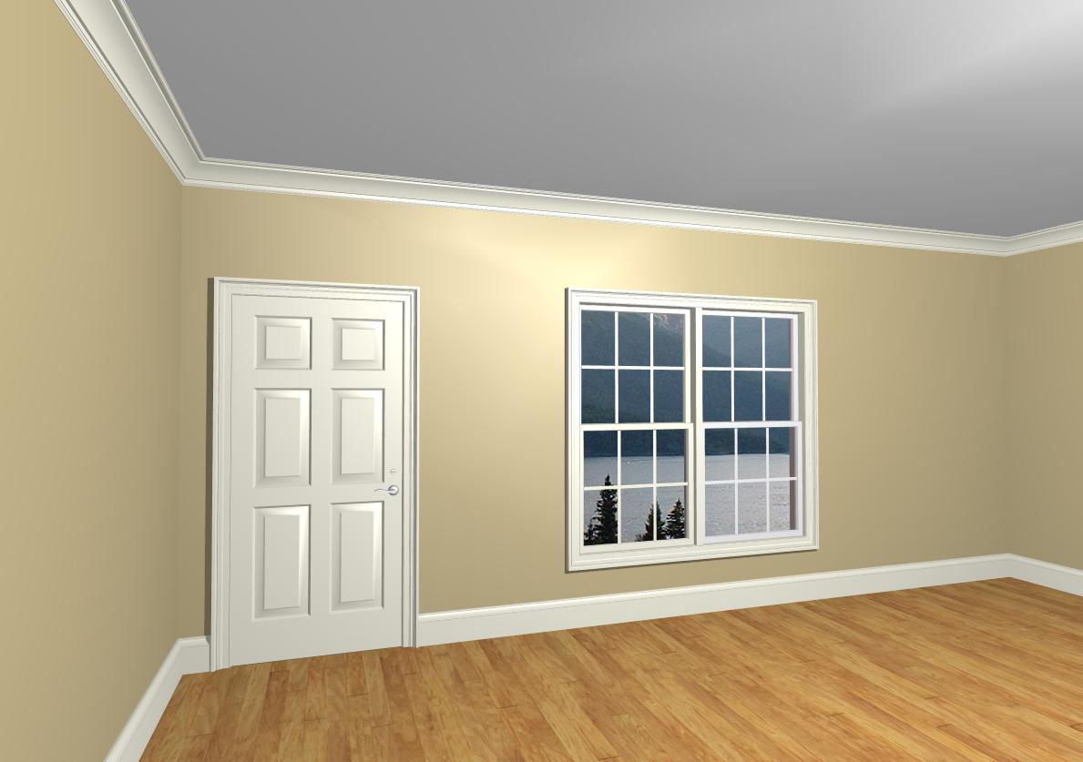 Ceiling White Crown Molding Color Question Color1 Jpg