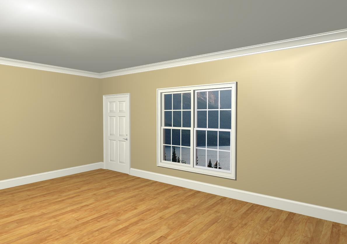 Ceiling White Crown Molding Color Question Color2 Jpg