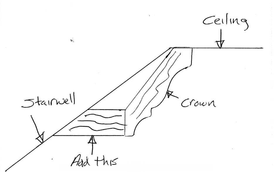 Terminating crown at stairwell-crown.jpg