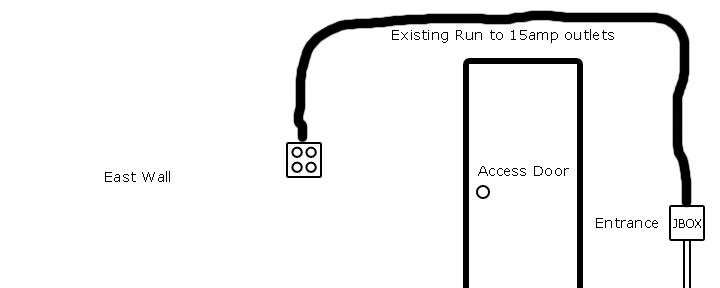 Garage Electrical. Trying to plan ahead ... thoughts?-current.jpg