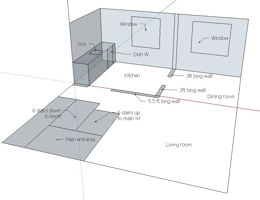 Remove kitchen walls below Fink truss attic, load bearing or not?-current-layout.jpg