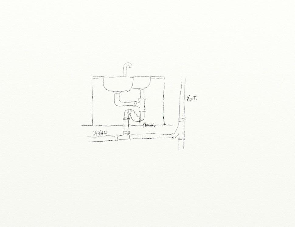 Plumbing Kitchen Island Vent diy kitchen island plumbing question - plumbing - diy home