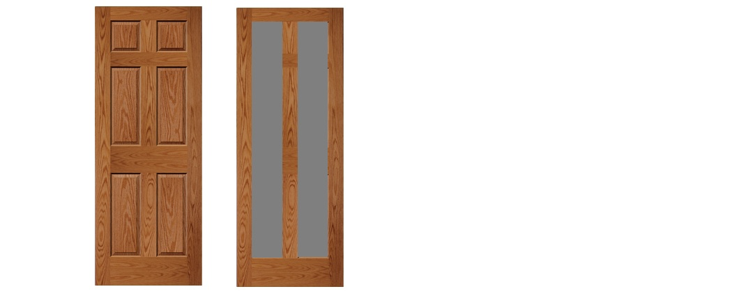Flush Interior Doors-custom6panelroak.jpg