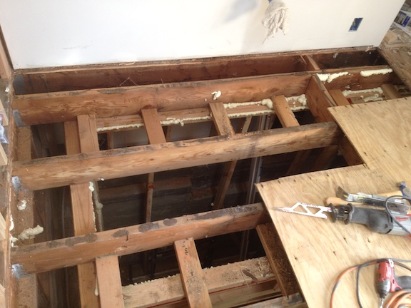 Bathroom Subfloor Replacement contemporary bathroom subfloor replacement to see if areas need
