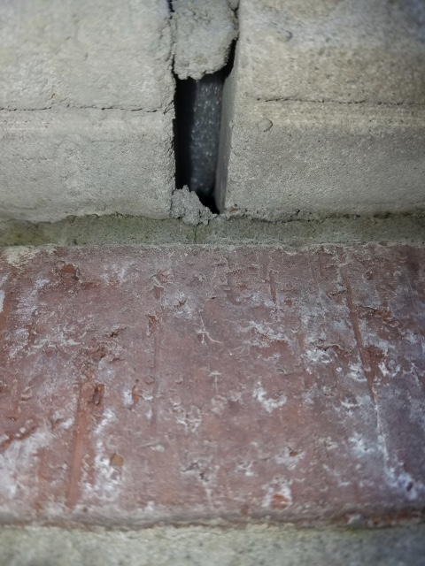 Urgent: Masonry work looks questionable, looking for opinions ASAP-d955324c-8dd7-4823-9374-d0f7cb364128.jpeg