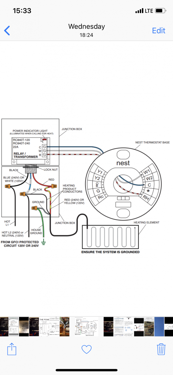 Wiring Low Voltage Thermostat On Profusion Electric Heater - Hvac