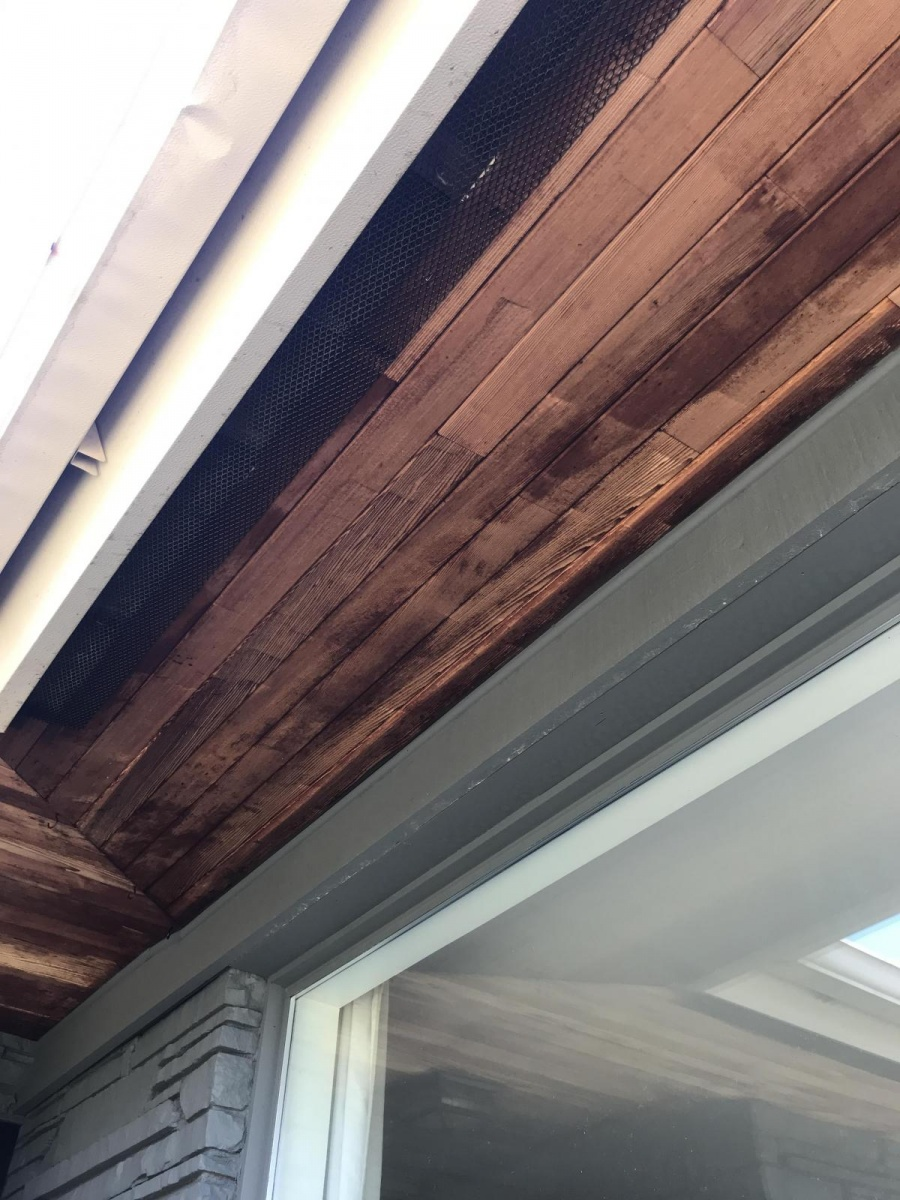 Refinishing Wood Soffits Roofing Siding Diy Home