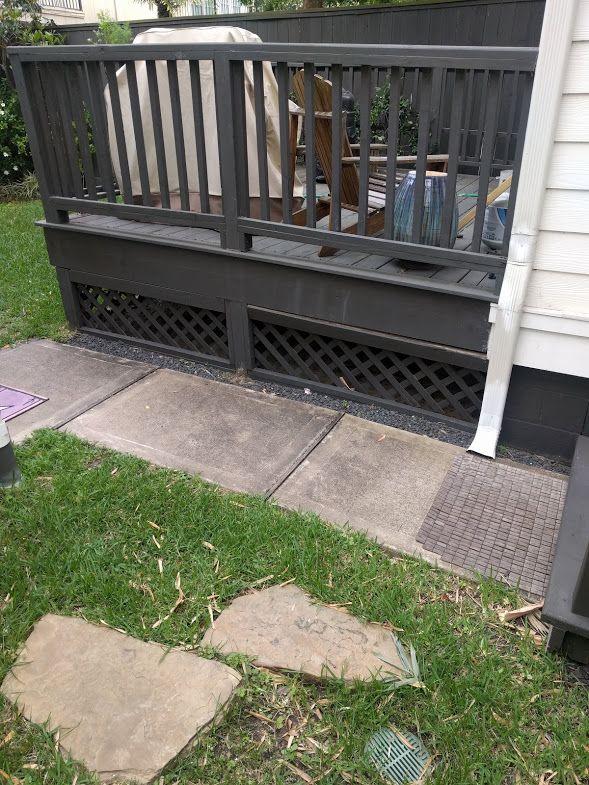 Backyard deck rising on one side-deck-lattice.jpg