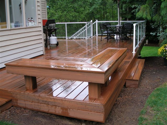 Built In Deck Bench Jpg