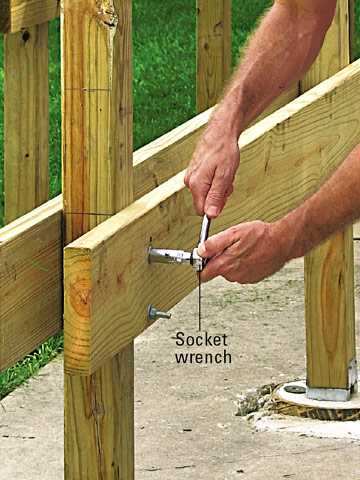Beef Up 4x4 Supports For Main Deck Beam   Building U0026 Construction   DIY  Chatroom Home Improvement Forum