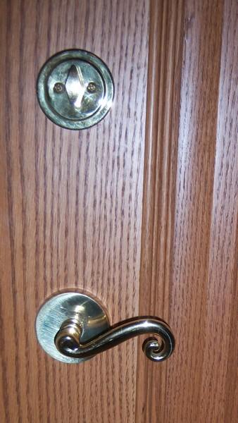Schlage Entry Door Knobs Dedbolt