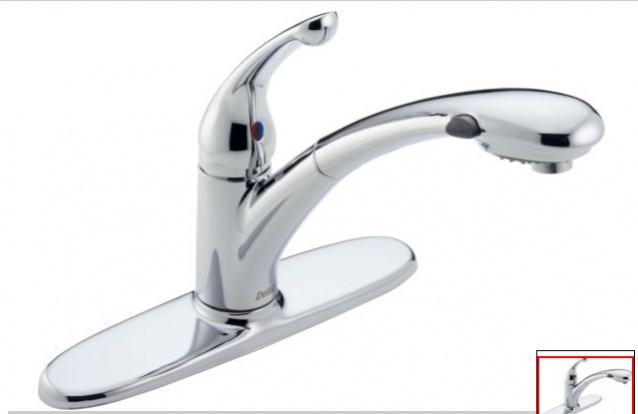 Faucet Leak Below Kitchen Sink And From The Delta Faucet Replace Or Repair Diy Home Improvement Forum