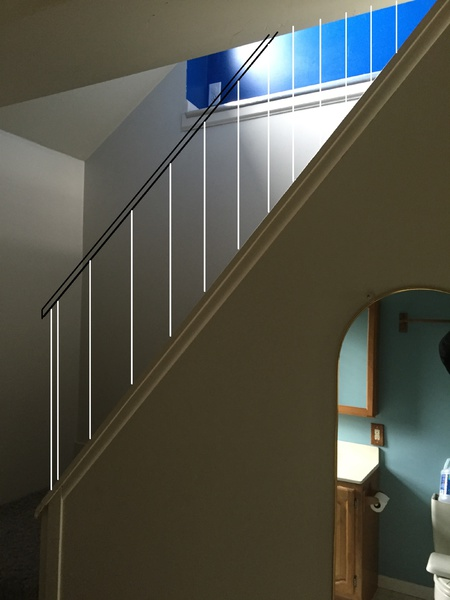 Open Staircase to Finished Attic, No Rails, and Ledge Issue at the Top-design-1-railing.jpg