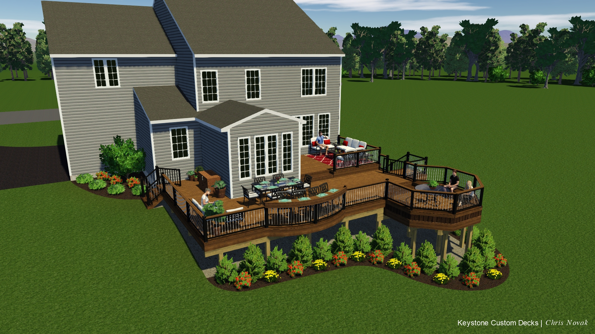 Amazing contractor experience here 39 s my deck build - Home expo design center locations ...