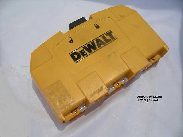Need good driver bit set.  Recommendations?-dewalt-dw2190case1.jpg