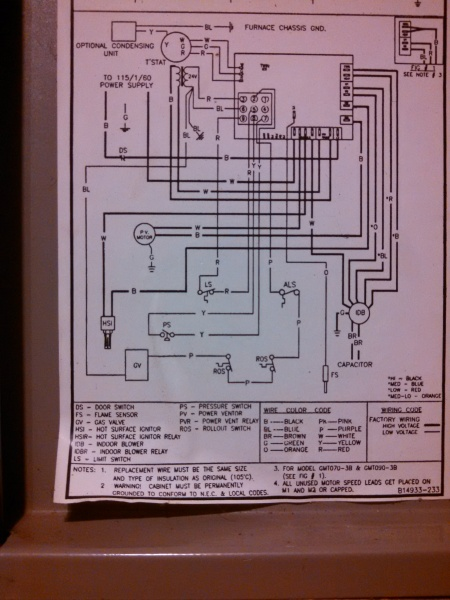 87709d1406430519 goodman gmt blower runs intermittently diagram 1 goodman gmt blower runs intermittently hvac diy chatroom home goodman gas furnace wiring diagram at webbmarketing.co