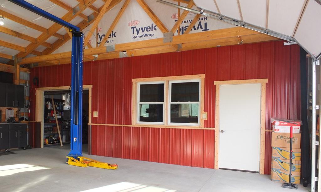 pole barn wiring to be hidden-dividing-wall-001 jpg