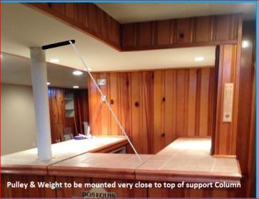 Hinged Bar Top - Carpentry - DIY Chatroom Home Improvement ...