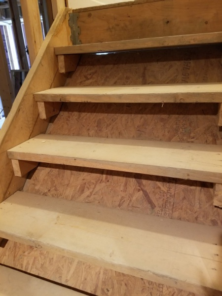 Adding Risers To Basement Stairs Diy