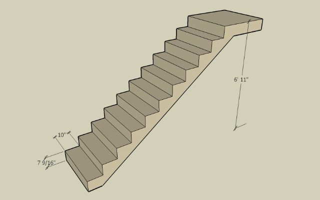 Stair Height Carpentry Diy Chatroom Home Improvement Forum