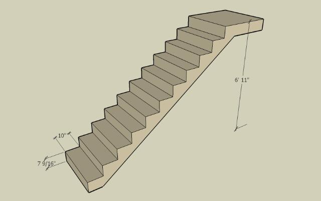 Stair Height Diy Stairs
