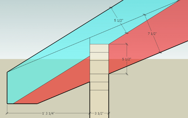 Unequal Pitch Roof Framing-diy-unequal-pitch-roof-plate-height-difference.jpg