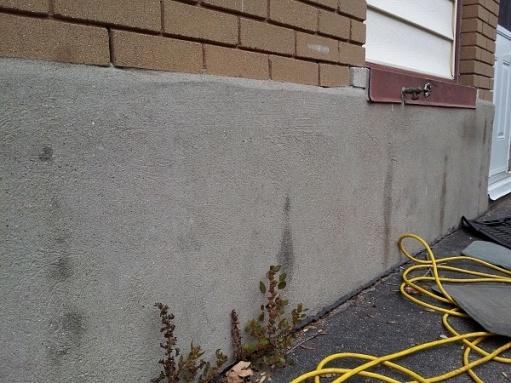 dark spots on outside of foundation walls-diy-wall.jpg