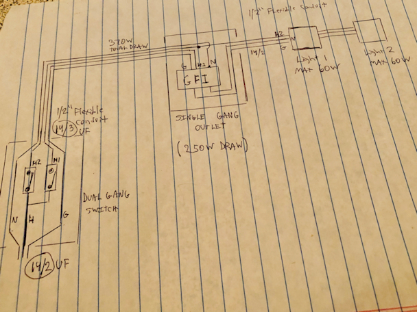 Patio Wiring - Electrical