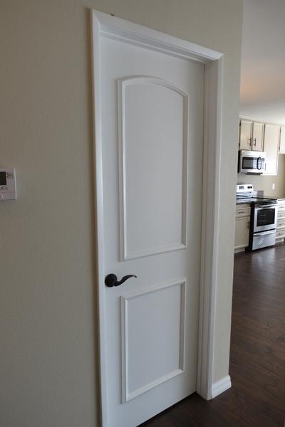 Merveilleux Product To Upgrade Flat Panel Doors Door Frames Installed 1