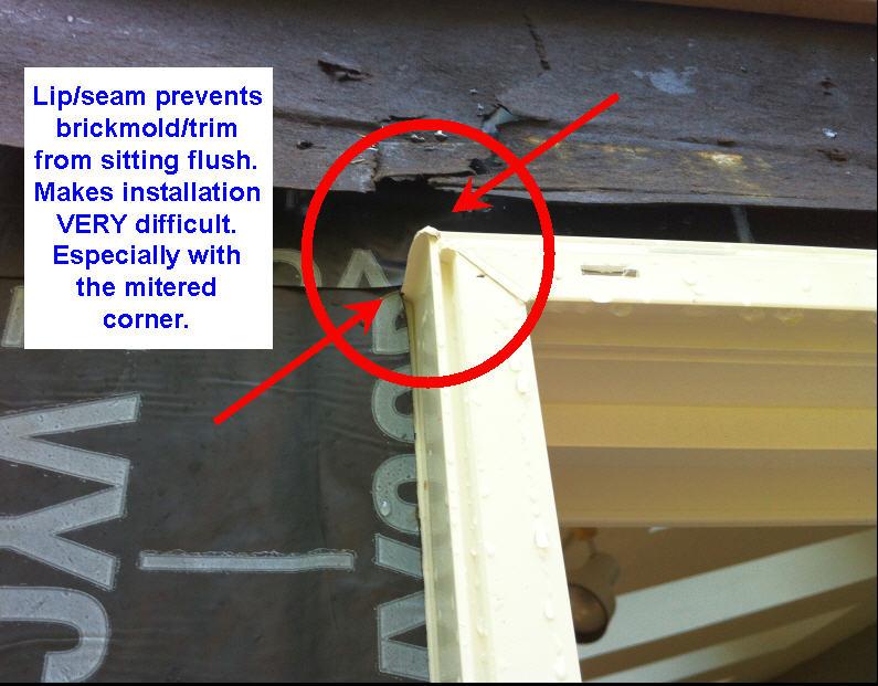 Azek Brickmold On Patio Door Replacement Windows And
