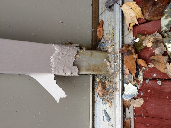 Project on our first home - rotting wood and door replacement-door1.jpg