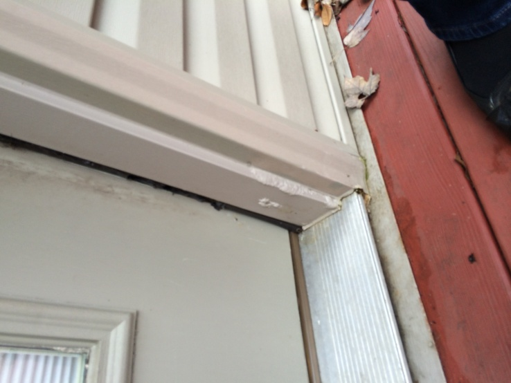 Project on our first home - rotting wood and door replacement-door3.jpg