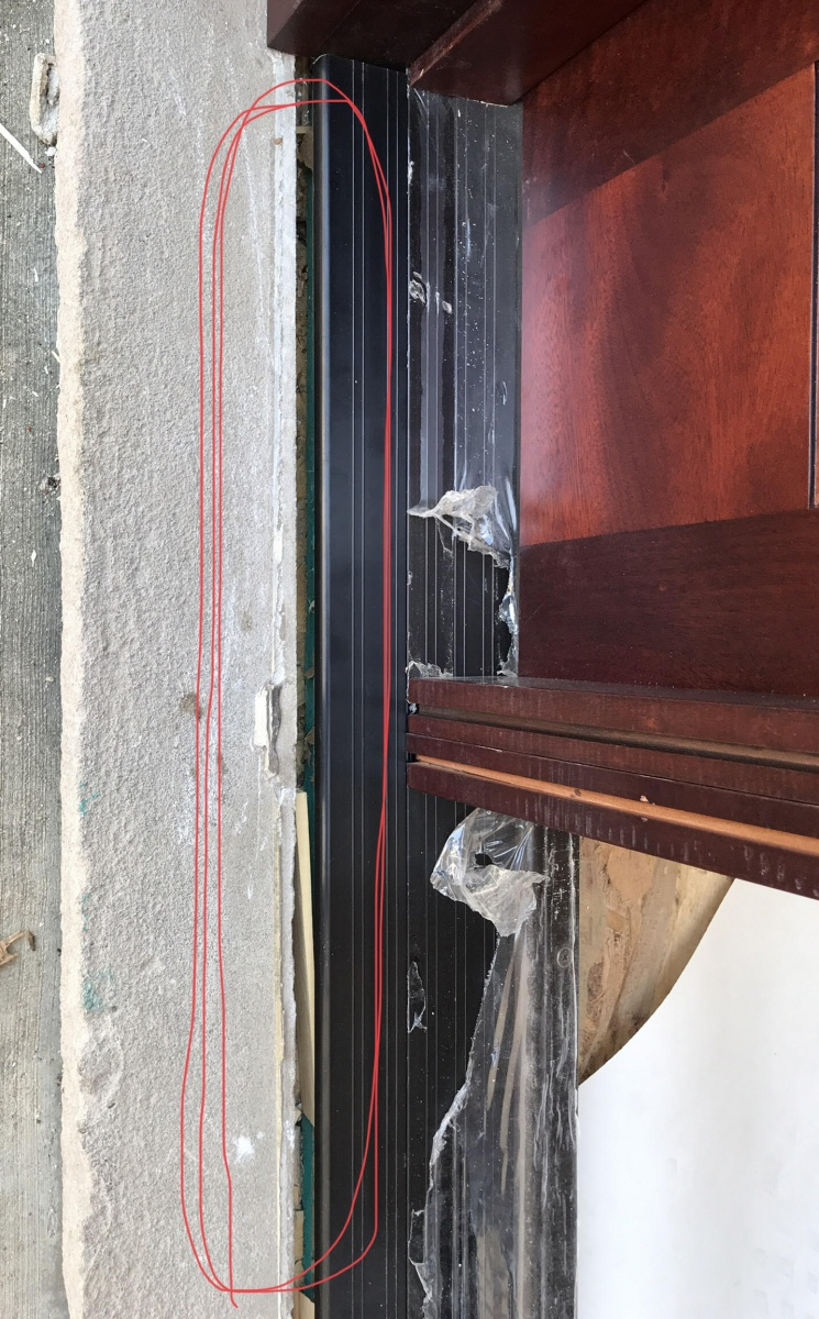 Entry Door Threshold Gap Problem Need Advise Windows And Doors Diy Chatroom Home